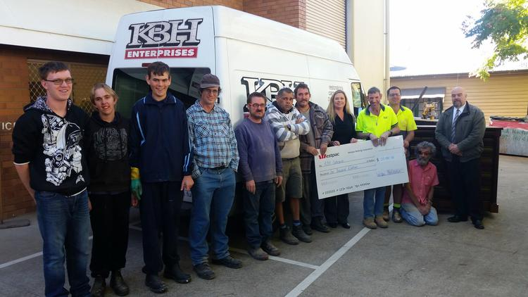 KBH Enterprises awarded Westpac Community Grant